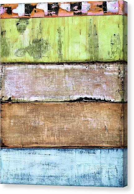 Canvas Print featuring the painting Art Print Sierra 4 by Harry Gruenert