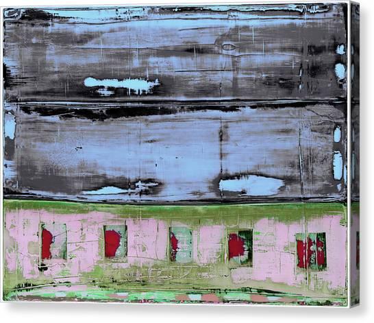 Canvas Print featuring the painting Art Print Sierra 7 by Harry Gruenert
