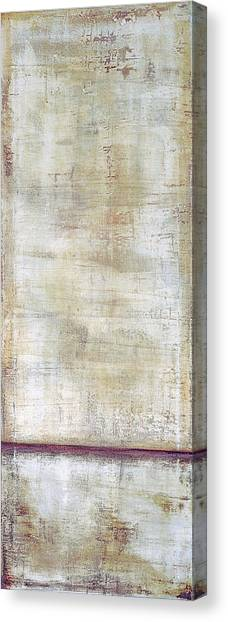 Canvas Print featuring the painting Art Print Whitewall 1 by Harry Gruenert