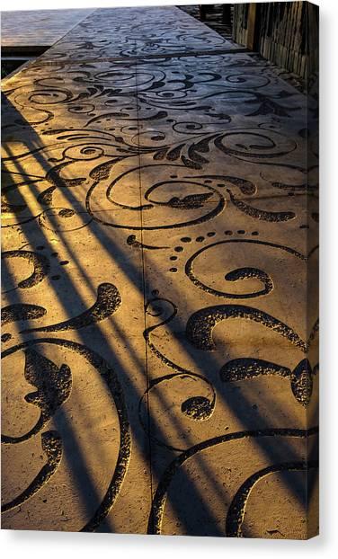 Art Walk Canvas Print