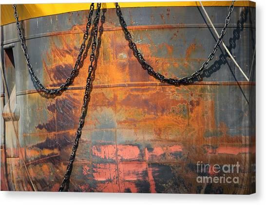 Artful Rust Canvas Print