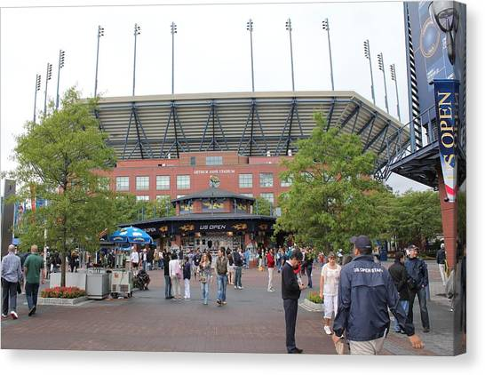 Arthur Ashe Stadium Canvas Print