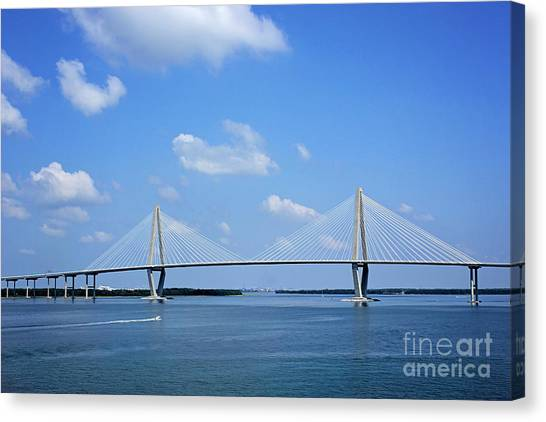 Arthur Ravenel Jr. Bridge - Charleston Canvas Print