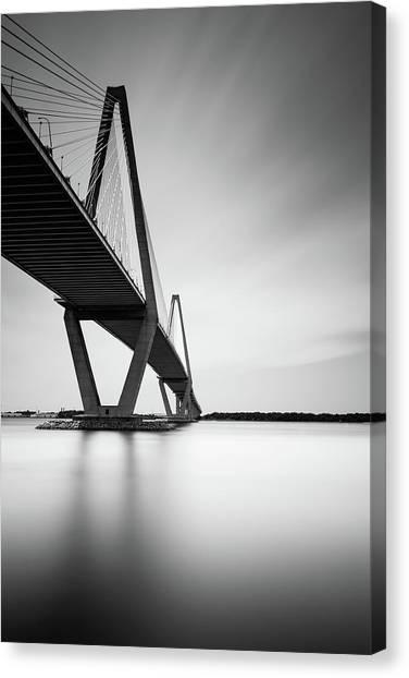 South Carolina Canvas Print - Arthur Ravenel Jr Bridge IIi by Ivo Kerssemakers