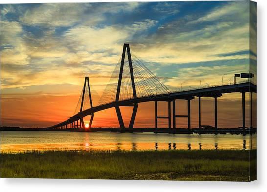 Arthur Ravenel Jr. Bridge - Charleston Sc Canvas Print