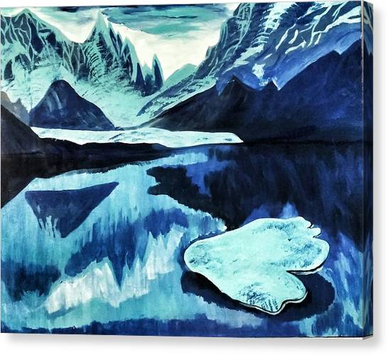 Artic Blue  Canvas Print