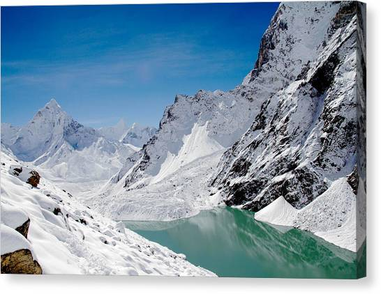 Artic Landscape Canvas Print
