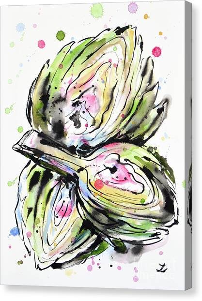 Artichoke Hearts Canvas Print