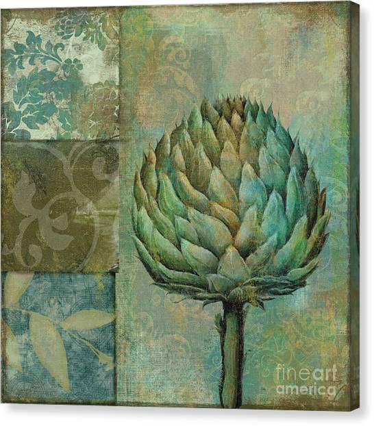 Artichoke Canvas Print - Artichoke Margaux by Mindy Sommers
