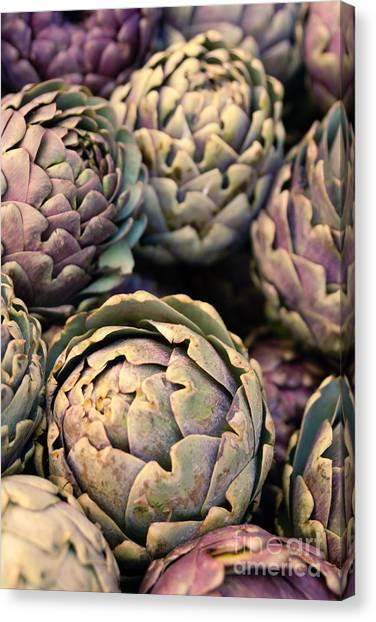 Artichoke Canvas Print - Artichokes by Ana V Ramirez
