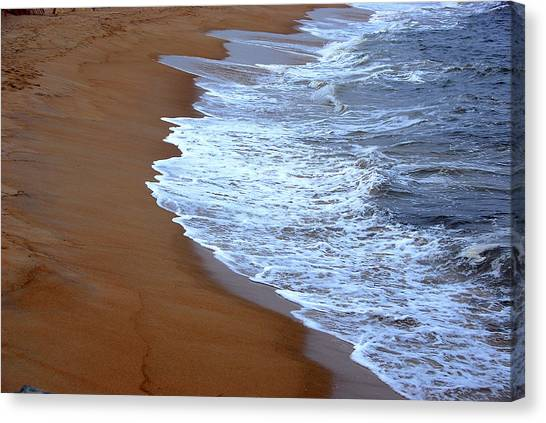Artistic Impression Plum Island Canvas Print