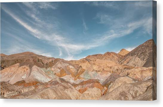 Mojave Desert Canvas Print - Artist's Palette by Joseph Smith