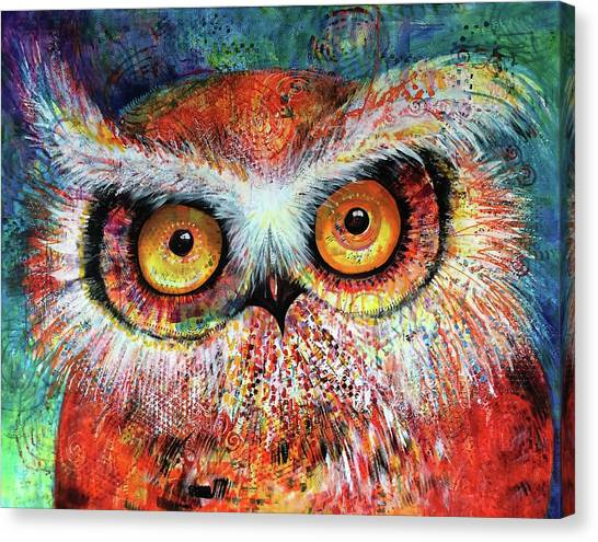 Artprize Hoot #1 Canvas Print
