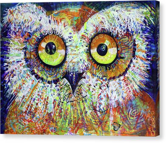 Artprize You That's Hoo Audience Participation Canvas Print