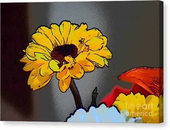Canvas Print featuring the photograph Artsy Sunshine by Patti Whitten