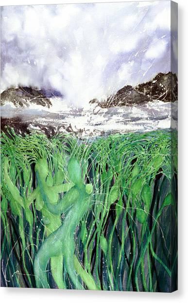 Arturo And Katarina Canvas Print