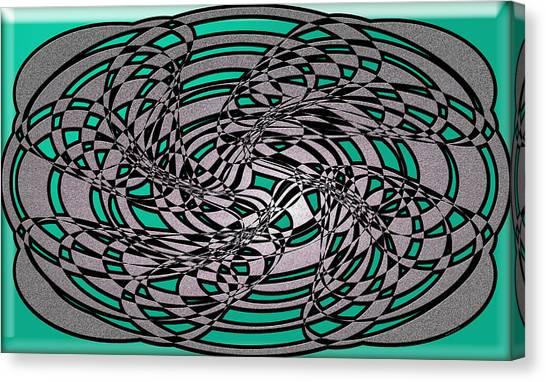 Artwork 116 Canvas Print by Evelyn Patrick