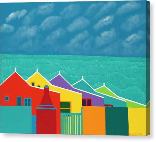 Canvas Print - Aruba Fantasy  by Synthia SAINT JAMES
