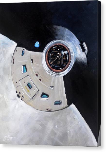 As-503 Apollo 8 Canvas Print by Simon Kregar