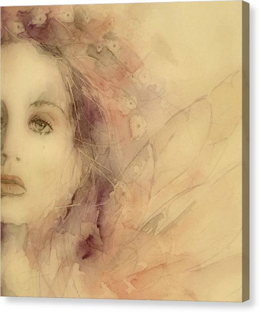 Singer Canvas Print - As Tears Go By by Paul Lovering