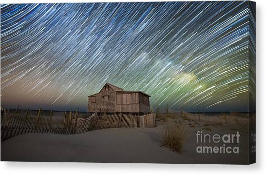 As The Stars Passed By  Canvas Print