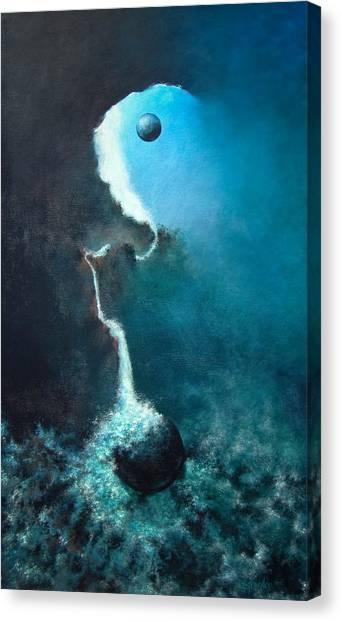 Ascending Canvas Print by DEVARAJ DanielFranco