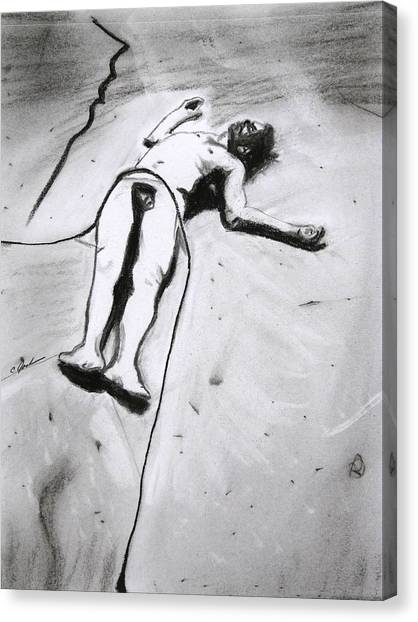 Ascension Canvas Print by Cathy Jourdan