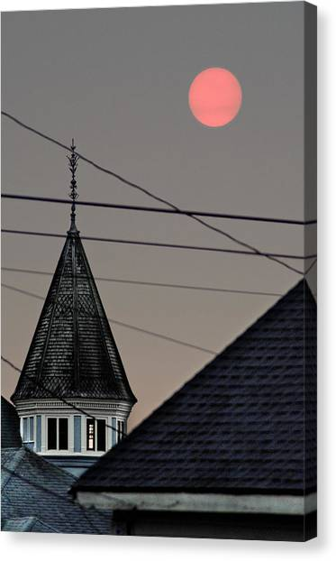 Canvas Print featuring the photograph Ashen Sun by Jon Exley