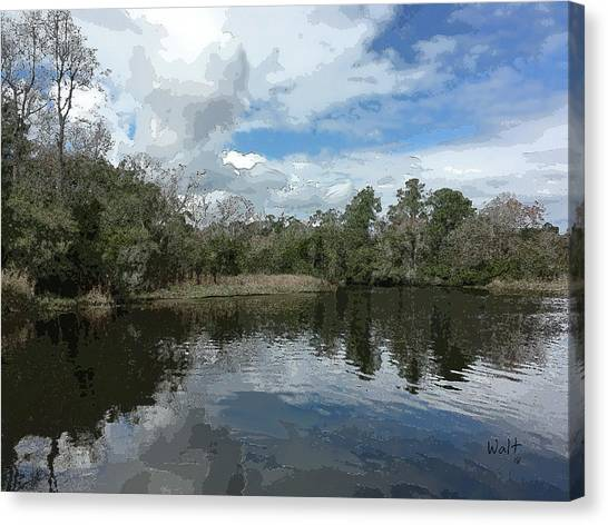 Ashley River Canvas Print
