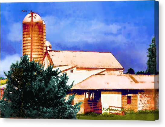 Ashville Silo Canvas Print
