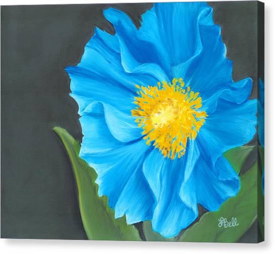 Asian Blue Canvas Print