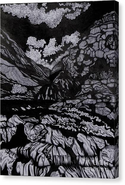 Asia.tension Canvas Print by Anna  Duyunova