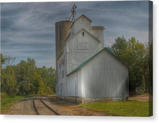 2008 - Aside The Tracks In Mayville Canvas Print