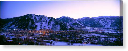 Mountainscape Canvas Print - Aspen, Colorado, Usa by Panoramic Images