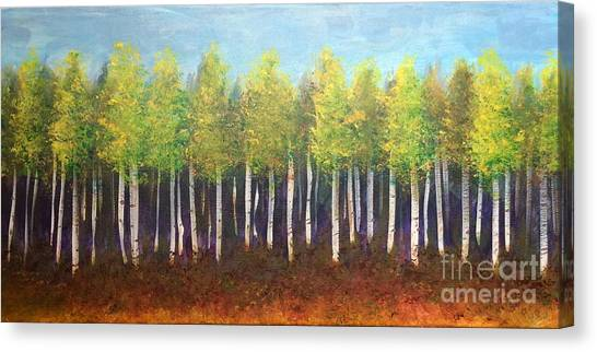Aspen Song Canvas Print
