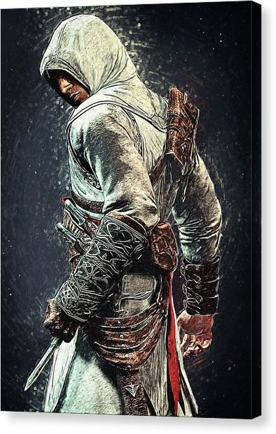 Xbox Canvas Print - Assassin's Creed - Altair by Taylan Soyturk