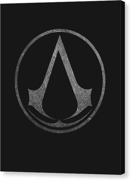 Playstation Canvas Print - Assassins Creed by Ryan Tubilan