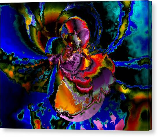 Assault By The Blues Canvas Print