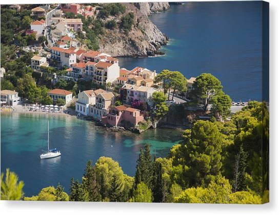 Assos In Greece Canvas Print