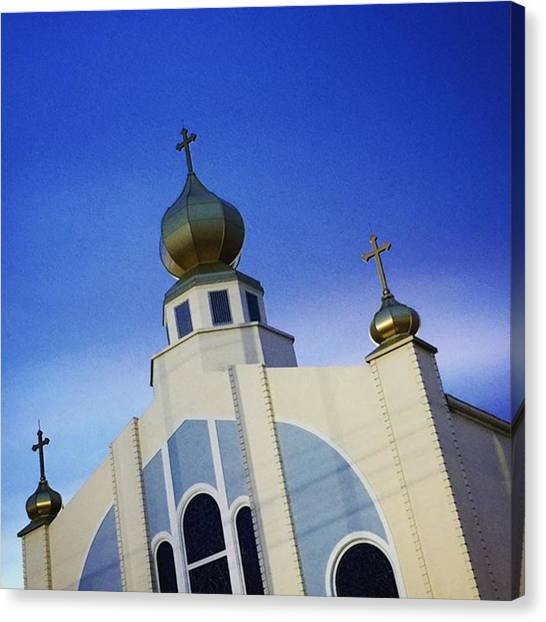 Religious Canvas Print - Assumption Of Blessed Virgin Mary by Juan Silva