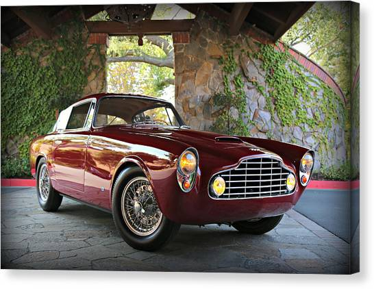 Aston Martin Db2 Canvas Print - Aston Martin Db24 Allemano by Steve Natale