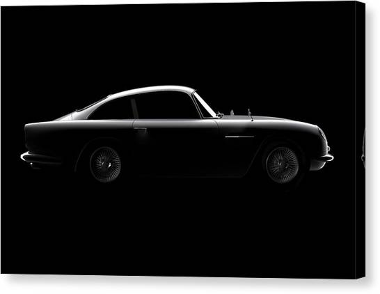 Aston Martin Db5 - Side View Canvas Print