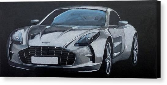 Aston Martin One-77 Canvas Print