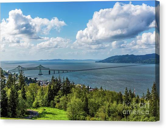 Astoria - Megler Bridge Canvas Print