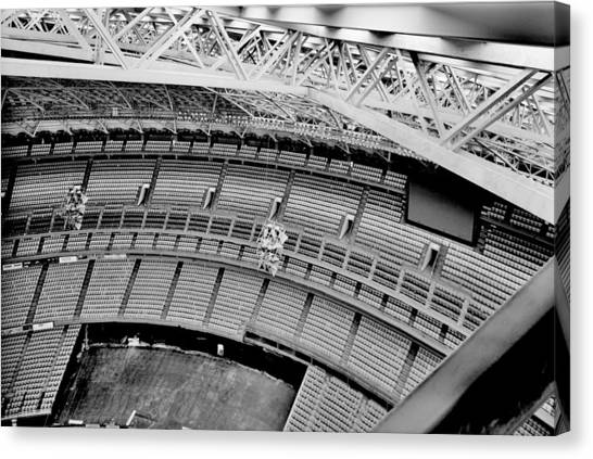 University Of Houston Canvas Print - Astrodome 10 by Benjamin Yeager
