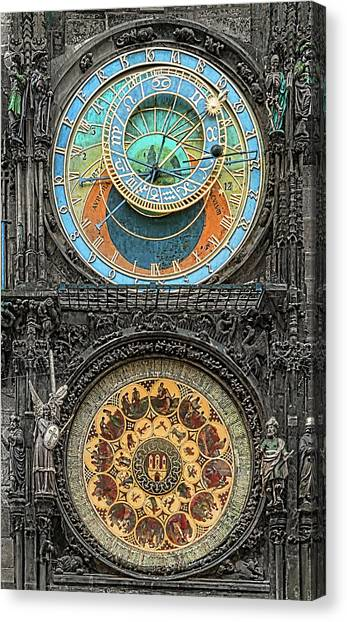 Astronomical Hours Canvas Print