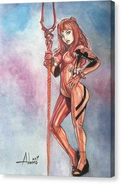 Asuka Langley Canvas Print