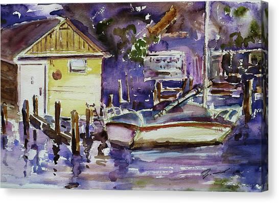 At Boat House 3 Canvas Print