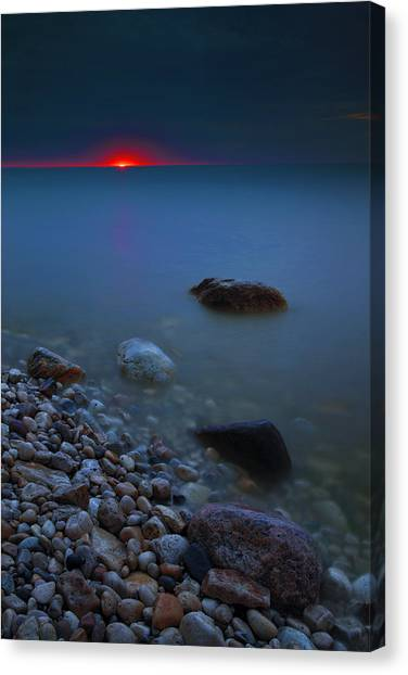 At First Light Canvas Print