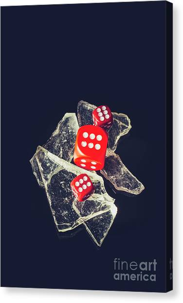 Wager Canvas Print - At Odds by Jorgo Photography - Wall Art Gallery